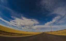 Endlose Straße Stockbild