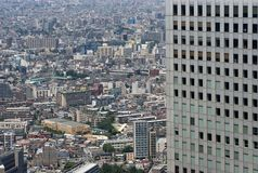 Endlose Tokyo-Ausbreitung lizenzfreie stockbilder
