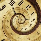 Endloser Zeit-Effekt Stockfotos