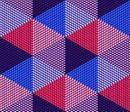 Endloses buntes symmetrisches Muster, Grafikdesign Geometrisch herein stock abbildung
