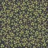 Endloses Muster mit Klee verlässt für St Patrick Tag Lizenzfreie Stockfotos