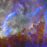 Endloses Universum Elemente dieses Bildes geliefert von der NASA stockfoto