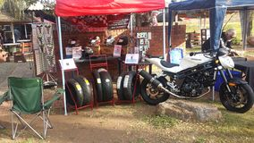 Endo it. Stall at Wheels in the Sky dayjol Royalty Free Stock Images