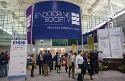 Endocrine Society Annual Meeting. Medical conference at Boston Convention Center Royalty Free Stock Photography