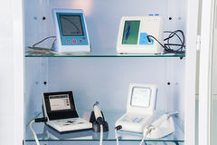 Endodontic equipment for the root canal shaping Stock Image