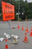 Endommagement de routes type image libre de droits