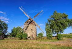 Endorf Windmill Royalty Free Stock Photo