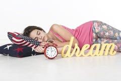 Endormi rapide Photos libres de droits