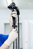 The endoscope Royalty Free Stock Photos