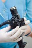 Endoscopio gastrointestinale fotografia stock libera da diritti