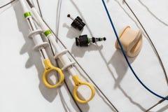 Endoscopy. Diagnostic equipment. Royalty Free Stock Photos