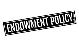 Endowment Policy rubber stamp Stock Photos
