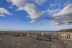 Endroit étonnant en Sicile Photo stock