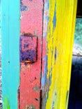 endroit abandonné dans des couleurs en pastel photographie stock
