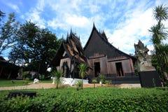 Endroit célèbre de Chiangrai le musée noir de maison du duchanee thawan Photographie stock