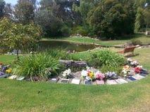 Endroit commémoratif de cimetière d'Australie occidentale de Pinaroo Perth de repos Photo libre de droits
