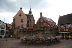 Endroit d'Eguisheim image libre de droits