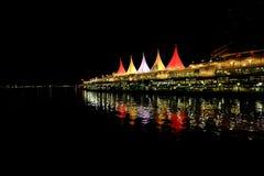 Endroit de Canada la nuit Photographie stock