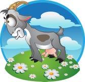 endroit de chèvre de fond illustration de vecteur