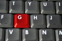 Endroit de G Images stock