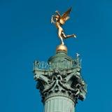 Endroit de la bastille à Paris photos stock