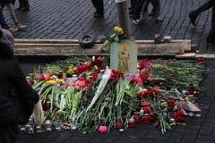 Endroit de la mort Photos libres de droits