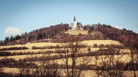 Endroit de pèlerinage - hora de Marianska, Slovaquie image libre de droits