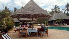 Endroit de plage en Tanzanie photos stock