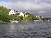 Endroit de vacances sur la rivière Photo libre de droits