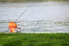 Endroit du pêcheur Image libre de droits