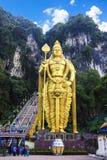 Endroit naturel de tourisme, caverne de Batu Images libres de droits