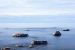 Endroit parfait pour la méditation dans la solitude Photo libre de droits