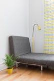Endroit pour la relaxation dans une maison moderne photo stock