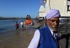 Endroit religieux d'Inde Images libres de droits