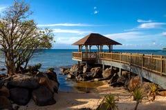 Endroit romantique des Îles Maurice Images libres de droits