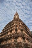 Endroit sacré à Ayutthaya, en Thaïlande, Photographie stock libre de droits