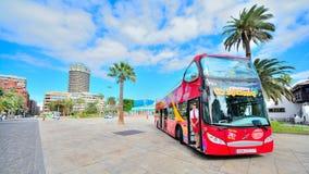 Endroit touristique et commercial dans mamie Canaria Photographie stock libre de droits