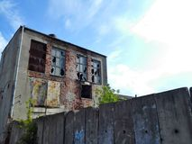 Endroits abandonnés : Usine Image stock
