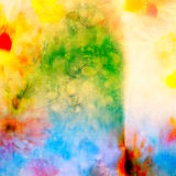 Endroits colorés Images stock