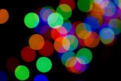 Endroits colorés par abstrait Photos libres de droits