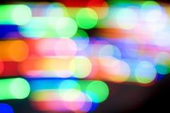 Endroits colorés par mouvement Photo stock