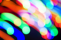 Endroits colorés par mouvement Image libre de droits