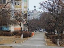 Endroits dans Aktau photo libre de droits