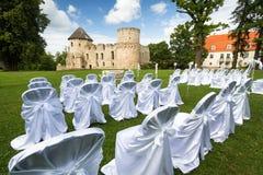 Endroits de cérémonie de mariage Photos stock