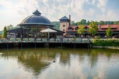 Endroits de Vilnius à visiter, parc de Belmontas Photos libres de droits