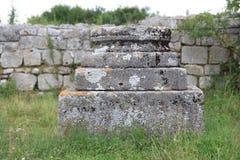Endroits historiques - ruines Photo libre de droits