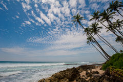 Ends of the earth. In Sri Lanka stock photo