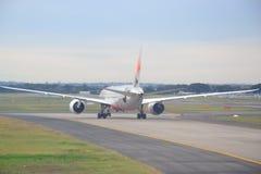 Endstück von einem Jetstar 787 Dreamliner Lizenzfreie Stockbilder