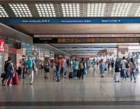 Endstationen stationieren, Rom, Italien Stockfoto