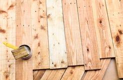 Enduisez le bois Images stock